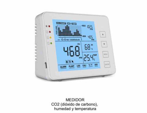 Medidor de CO2, humedad y temperatura