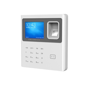 Control de presencia IP biométrico, contraseña y RFID
