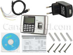 1170035  Control biométrico IP por huella dactilar y contraseña
