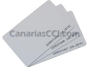 1170050 25 tarjetas de acceso sin contacto para controles de acceso