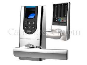 1170111 Cerradura autónoma por huella digital y teclado numérico