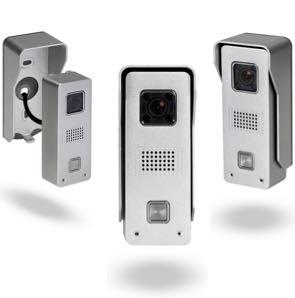 Videoportero WiFi IP antivandalico con cámara HD y grabación por detección de movimiento