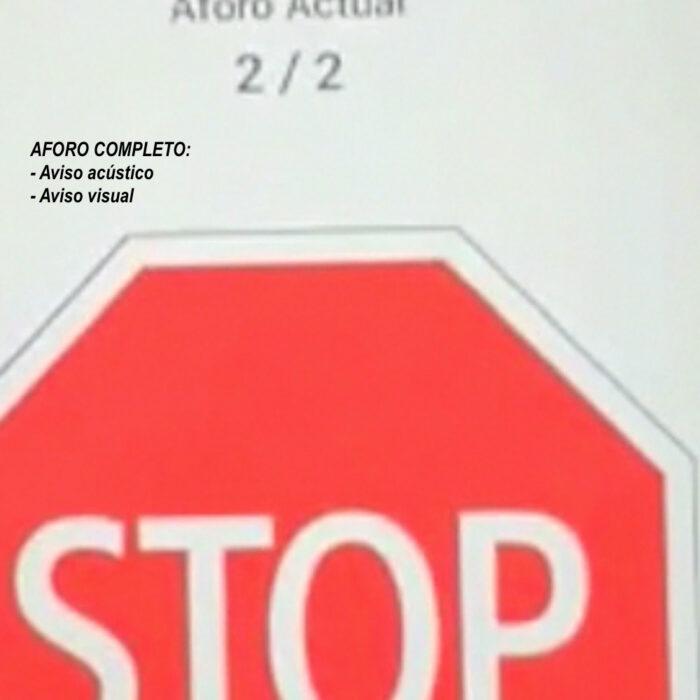 Kit solución para control de aforo