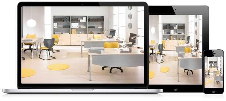 Cámara IP espía compatible con ordenadores, Smartphones, Tablets, Windows, MAC, Android, iOS…