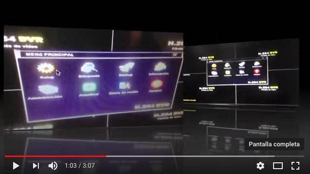 vídeo configuración DVR