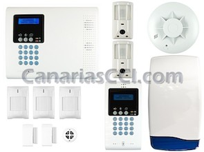 Kits completos alarmas