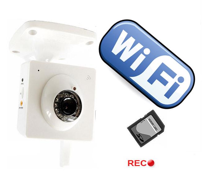 Descatalogados c mara ip megapixel wifi para - Camaras de vigilancia con grabacion ...