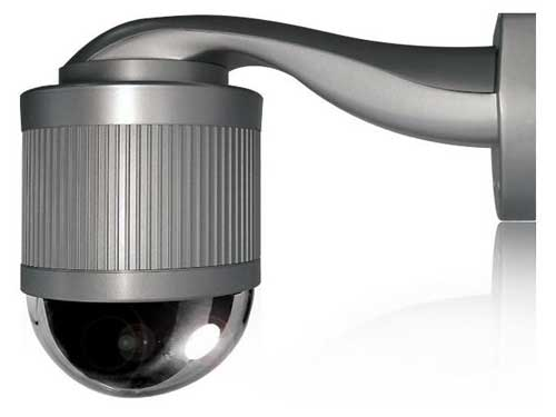 Camara ip domo exterior ptz x22 con autotracking for Camara vigilancia exterior