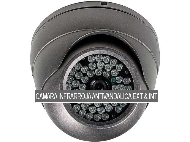 Camara de vigilancia antivandalica infrarroja exterior inter for Camara vigilancia exterior
