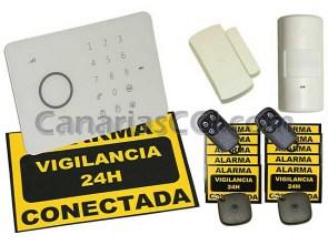 Ref. 1111130 Kit sistema inalámbrico de alarma GSM Aurora Touch G5 basico