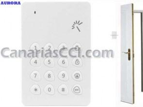 Ref. 1111151 Teclado inalámbrico alarmas Aurora Light G3 y Alarma Touch G5