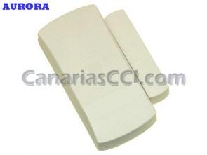 Ref. 1111167 Sensor inalámbrico magnético puertas y ventanas, Aurora GSM