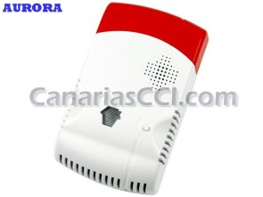Ref. 1111178 Detector inalámbrico de escapes de gas alarmas Aurora